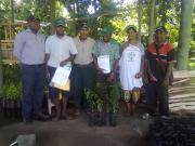 PSA graduands practicle training with National Forestry